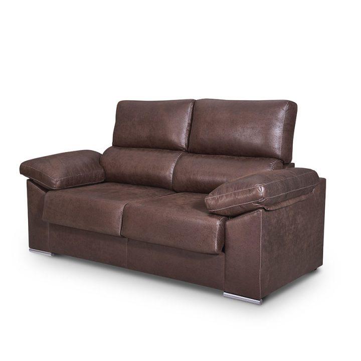 sofá 3 plazas asientos extraibles y cabecero reclinable Panamera