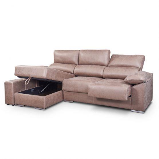 Sofa chaise longue extraible katrina