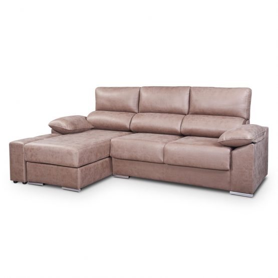 Sofa chaise longue extraible y arcon