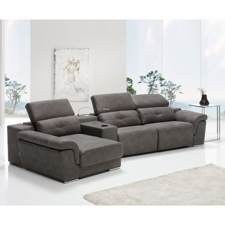 sofá chaiselongue relax con audio