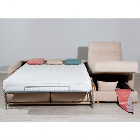 chaiselongue cama apertura italiana